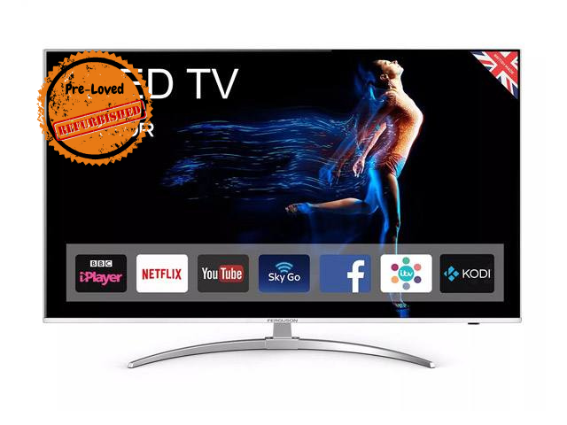 "Refurbished Ferguson 55"" Smart Android 4k QLED TV hiya!"