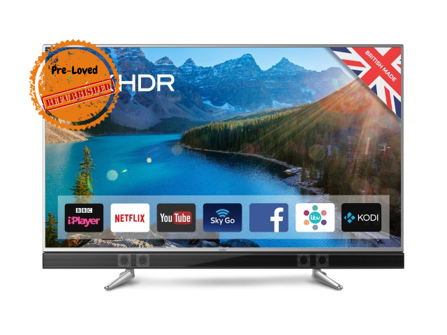 "Refurbished Ferguson 65"" Android 4k Smart TV hiya!"